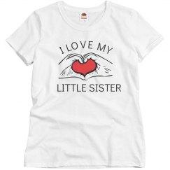 I love my little sister