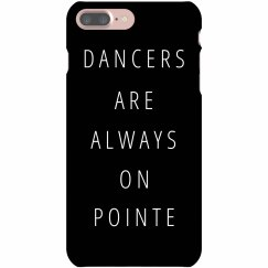 Dancers Phone Case On Pointe