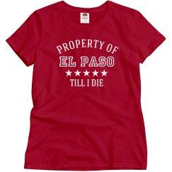 Property of El Paso
