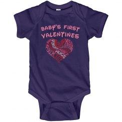 Big Heart 1st Valentines