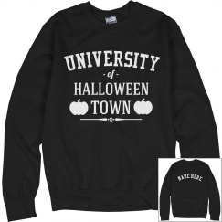 Custom Halloween Town University