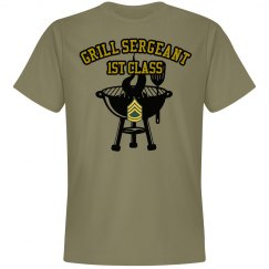 Grill Sergeant Barbecue Tee