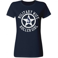 Military Wife Roller Girl