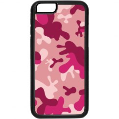 Pink Camo iPhone 4