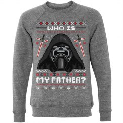 Ugly XMas Who Is Kylo Ren