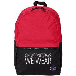 We Wear Pink Backpacks