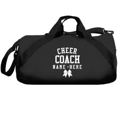 Customizable Cheer Coach Bags