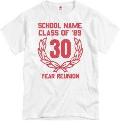 30 Year Class Reunion
