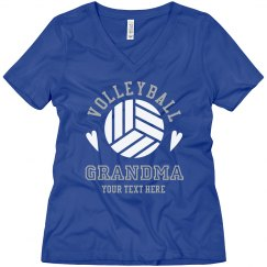 Cute Custom Volleyball Grandma