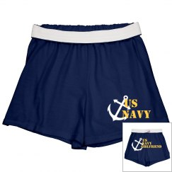 Navy Girlfriend Shorts