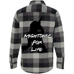 Mightonic Plaid Shirt