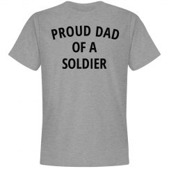 Proud dad of a soldier