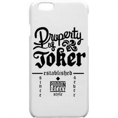 Property of Joker - iPhone 5