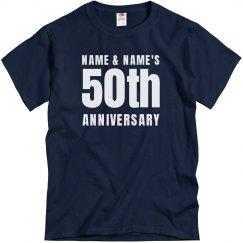 50th Anniversary Unisex