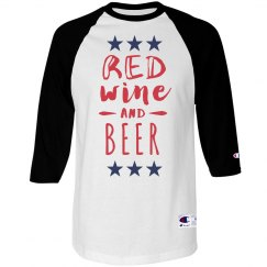 Red Wine And Beer for July