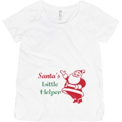 Santa's Little Helper Top