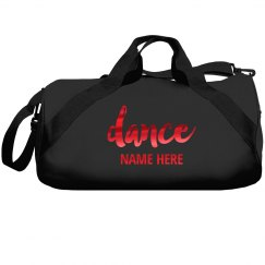 Red Metallic Dance Name