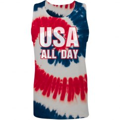 USA All Day 4th Tank