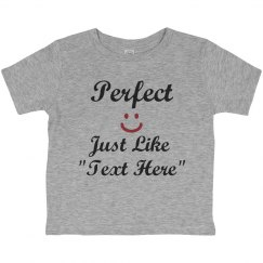 """Perfect like """"your text"""""""