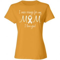 Mom orange kidney cancer