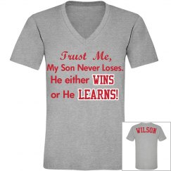 He Wins or He Learns.