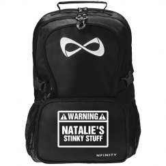 Stinky Fastpitch Nfinity Backpack With Custom Name
