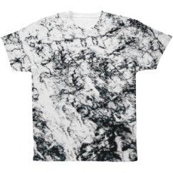 Marble Printed Fashion Apparel
