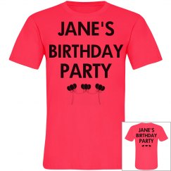Jane's Birthday Party