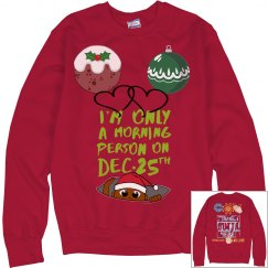The Fashion Forward Christmas Sweater
