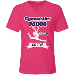 Gym Mom Relaxed Pink