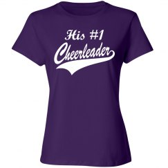 His #1 Cheerleader