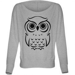 Owl Fashion Top