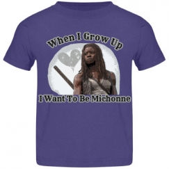 Toddler's When I Grow Up Michonne Tee