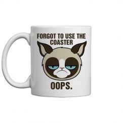 A Messy Grumpy Cat