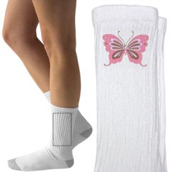 Pretty Butterfly Socks