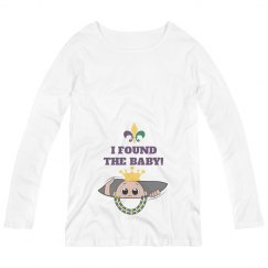 Cute Mardi Gras Maternity Mommy