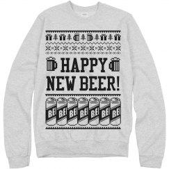 Happy New Year Beer