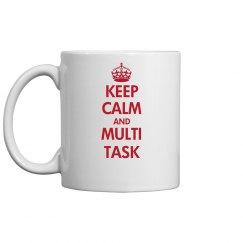 Keep Calm Admin Mug