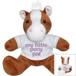 my little pony pal plush