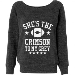 The Crimson To My Grey Besties