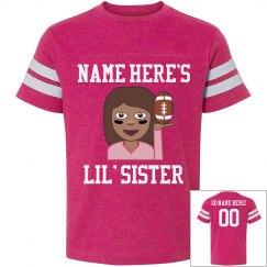 Football Lil' Sister