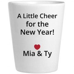New Years Wine Cheer