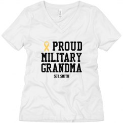 Proud Army Grandma