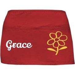 Custom waist apron