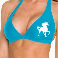 Simple Bikini Top (Blue)
