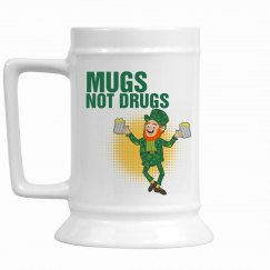 Mugs Not Drugs Stein