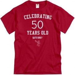 Celebrating 50 years old