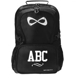 Cute Custom Initial School Bookbag
