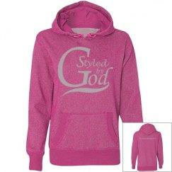 SBG Misses Glitter Hoodie - Pink