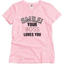 smile....